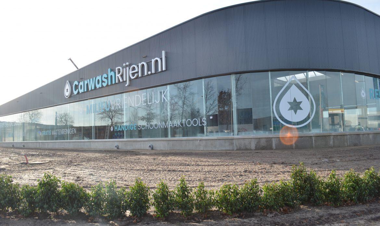 Carwash Rijen klaar voor de toekomst met state of the art wascentrum