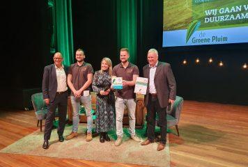 'T Vosje krijgt duurzaamheidsprijs in Oosterhout