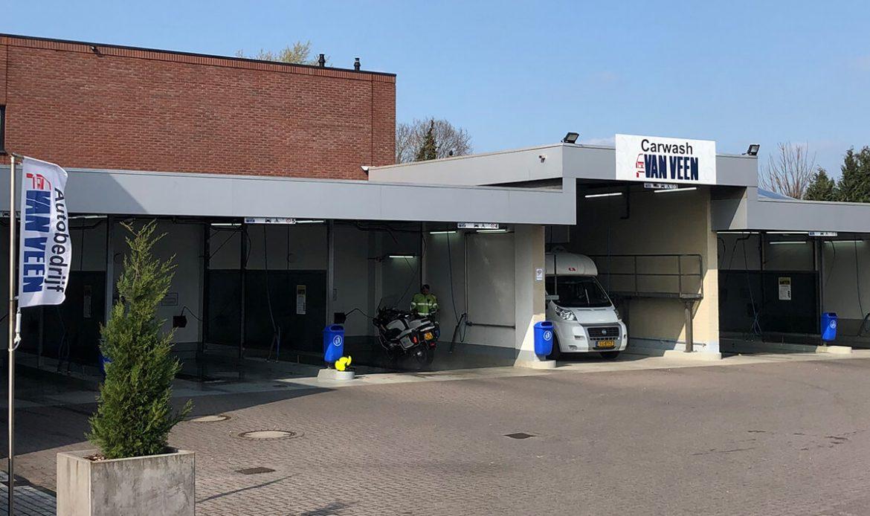 Carwash van Veen gaat voor vernieuwing: 'Alleen de muren blijven staan'